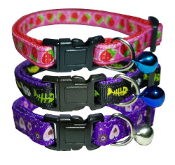 Fish Cat Collars